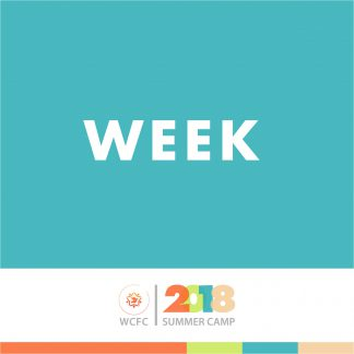 2018 Summer Camps by Weeks